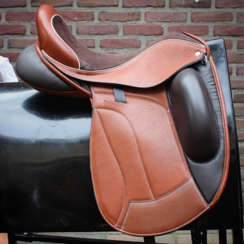 Multi brown vienna Icon - Custom Saddlery, Dressage Saddles | Drakesaddlesavvy.com