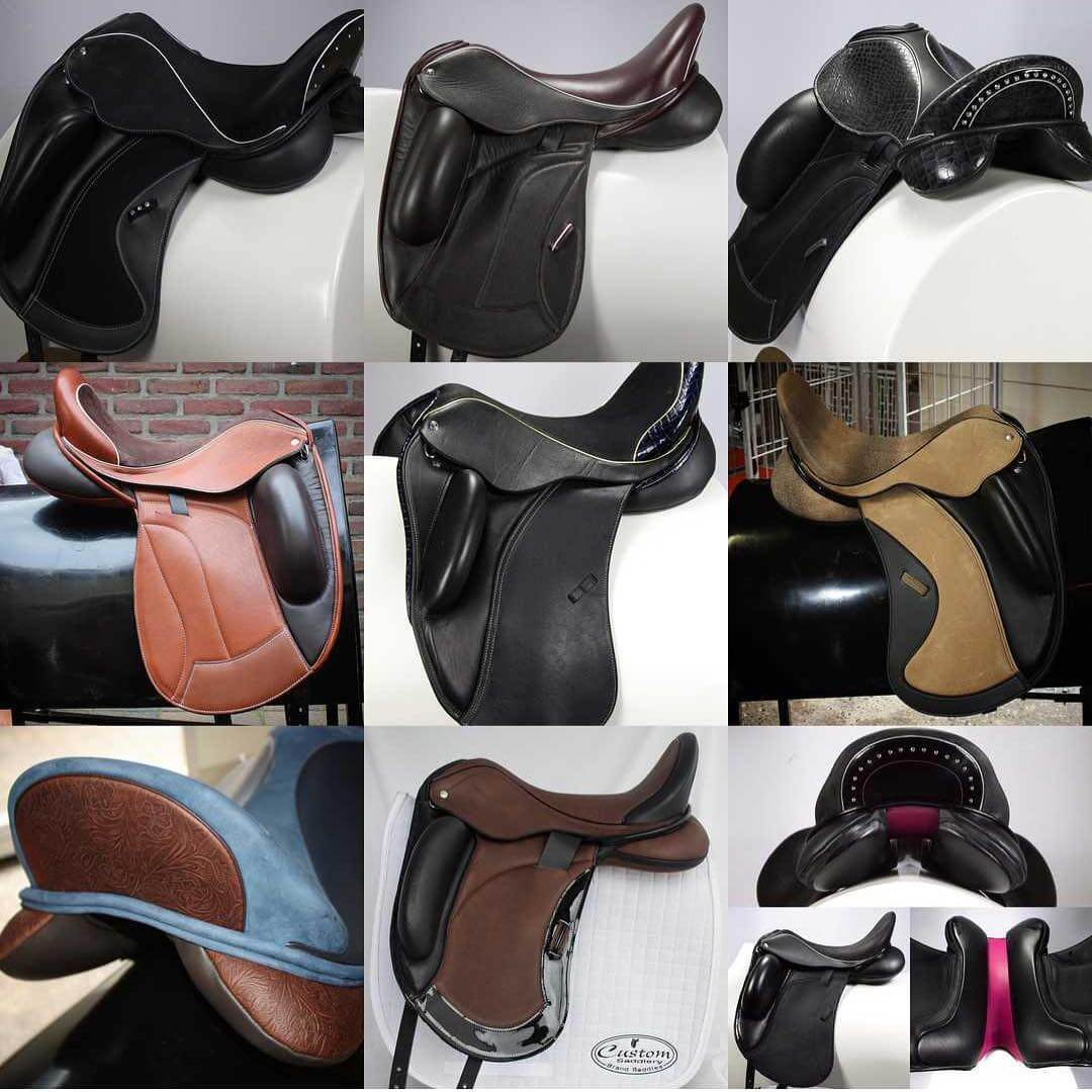 Multi view saddles - Custom Saddlery, Dressage Saddles | Drakesaddlesavvy.com